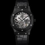 hublot-classic-fusion-ultra-thin-skeleton-all-black